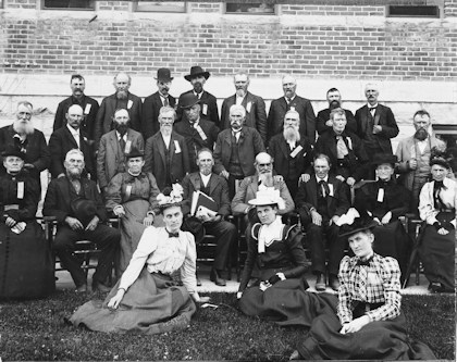 1898 Members of Old Settlers Association
