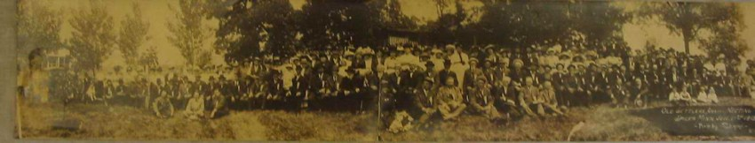 Old Settlers Association Meeting held in Spicer 1913